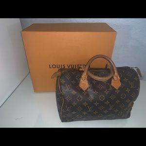 100% Authentic Louis Vuitton Speedy 30 Monogram